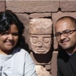 Wonder what our faces would look like carved!