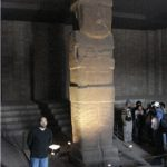 The largest stone statue they found - 10 meters high, weighing 20 tonnes